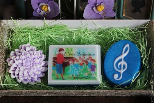 """Мыло ручной работы. Ярмарка Мастеров - ручная работа. Купить Набор мыла """"Педагогу музыки"""". Handmade. Разноцветный, подарок учительнице"""