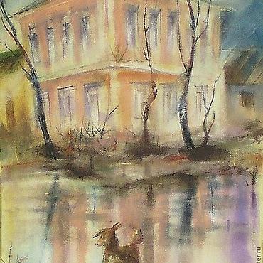 """Картины и панно ручной работы. Ярмарка Мастеров - ручная работа Картина """"Образцовый наугольный"""". Handmade."""