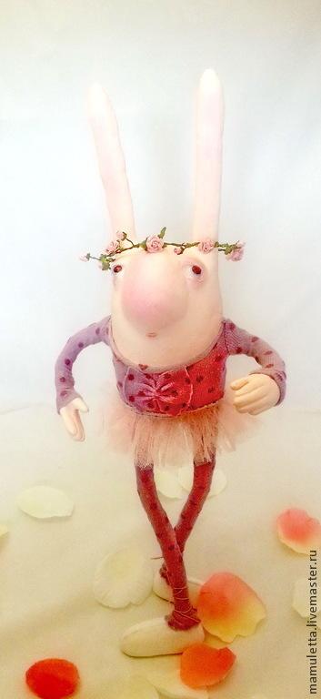 Коллекционные куклы ручной работы. Ярмарка Мастеров - ручная работа. Купить Прима. Handmade. Бледно-розовый, подарок на 8 марта