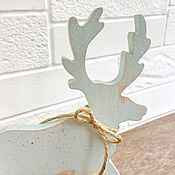 Для дома и интерьера handmade. Livemaster - original item Scandinavian Deer. Eco-style. Handmade.