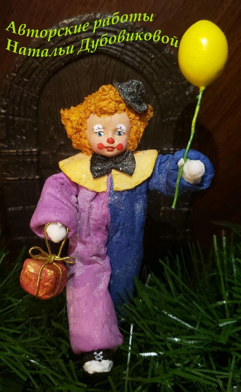 Ватная елочная игрушка, Народная кукла, Москва,  Фото №1