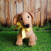 Куклы и игрушки handmade. Livemaster - original item Jerry The Puppy. Handmade.