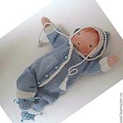Куклы и игрушки ручной работы. Ярмарка Мастеров - ручная работа Малыш вальдорфский - младенец 28 см. Handmade.