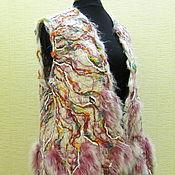 Одежда ручной работы. Ярмарка Мастеров - ручная работа Жилет Степной ветер 4. Handmade.
