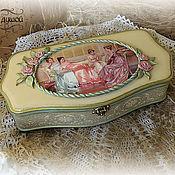 """Для дома и интерьера ручной работы. Ярмарка Мастеров - ручная работа Шкатулка """"Сестры"""". Handmade."""