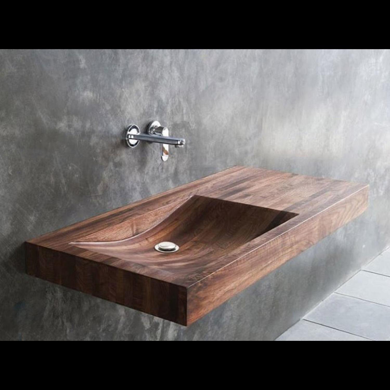 Раковина из дерева, деревянная, Дизайн, Екатеринбург, Фото №1
