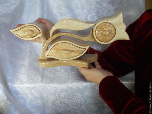 """Шкатулки ручной работы. Ярмарка Мастеров - ручная работа. Купить Шкатулка """"Тюльпан"""". Handmade. Фиолетовый, шкатулка для мелочей, gift, древесина"""