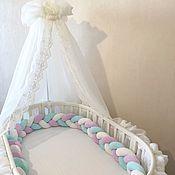 Текстиль ручной работы. Ярмарка Мастеров - ручная работа Балдахин для детской кровати. Handmade.