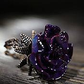 """Украшения ручной работы. Ярмарка Мастеров - ручная работа Кольцо """"Волшебная фиолетовая"""". Handmade."""