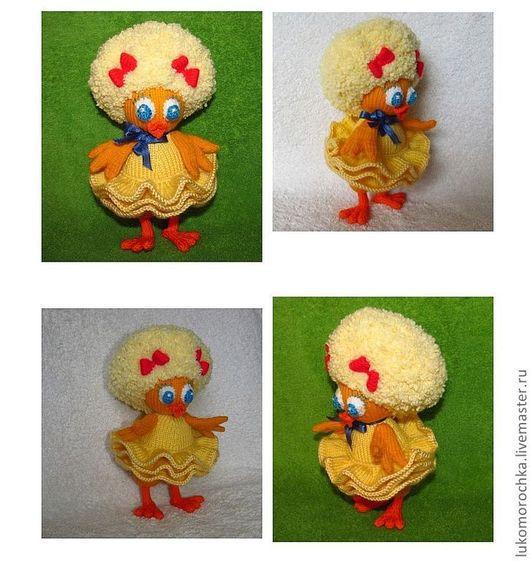 """Обучающие материалы ручной работы. Ярмарка Мастеров - ручная работа. Купить МК """"Цыпленок Тутта Карлсон"""" (описание по вязанию игрушки спицами). Handmade."""