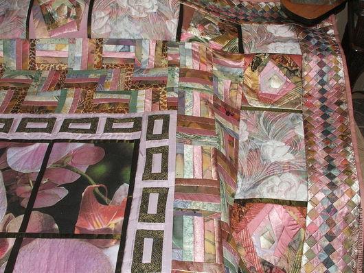 Текстиль, ковры ручной работы. Ярмарка Мастеров - ручная работа. Купить Покрывало  Мир перламутровых снов. Handmade. Бледно-розовый