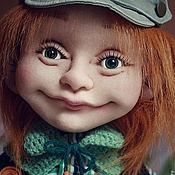 Текстильная кукла Яшенька