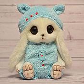 Куклы и игрушки ручной работы. Ярмарка Мастеров - ручная работа Зайка Кирюша игрушка. Handmade.