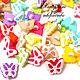 Пуговицы пластиковые Бабочки, Пуговицы, Барнаул, Фото №1