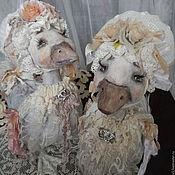 """Куклы и игрушки ручной работы. Ярмарка Мастеров - ручная работа Уточка """"Нелли"""". Handmade."""