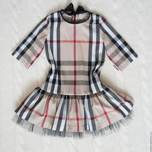Одежда для девочек, ручной работы. Ярмарка Мастеров - ручная работа. Купить Платье для девочки с пышной юбкой. Handmade. Платье для малышки
