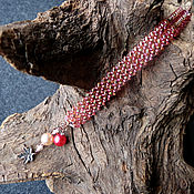 Украшения handmade. Livemaster - original item Beaded bracelet