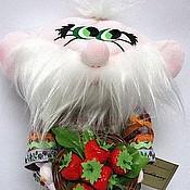 Куклы и игрушки ручной работы. Ярмарка Мастеров - ручная работа Кукла Домовой Клубничкин. Handmade.