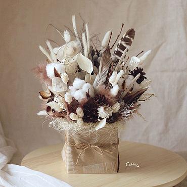 Цветы и флористика ручной работы. Ярмарка Мастеров - ручная работа Хлеб и соль XL. Handmade.