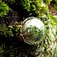 Кольцо с настоящим мхом Микромир.  Полая стеклянная полусфера в этом нежном колечке заполнена настоящим мхом. Собственный микромир, маленький кусочек леса и солнечного лета будет всегда с Вами. Кольц