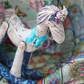"""Куклы и игрушки ручной работы. Ярмарка Мастеров - ручная работа Лошадка """"Вся в письмах..."""". Handmade."""