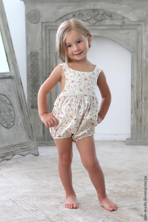 Одежда для девочек, ручной работы. Ярмарка Мастеров - ручная работа. Купить Боди (Арт.: Д- 60). Handmade. Цветочный