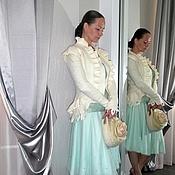 """Одежда ручной работы. Ярмарка Мастеров - ручная работа Жакет """"Царевна Лебедь"""". Handmade."""