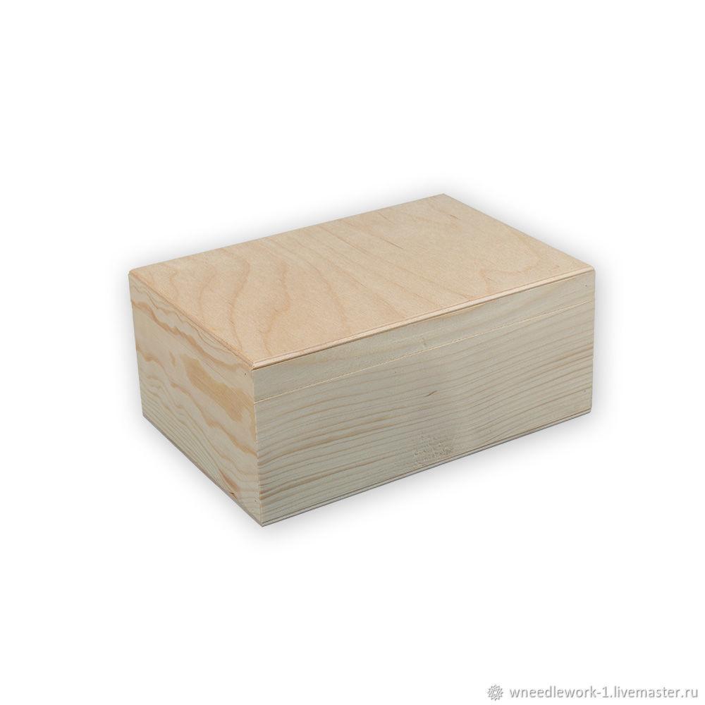 Деревянный короб сосна 22 x 15 x 9 см, Коробки, Москва,  Фото №1