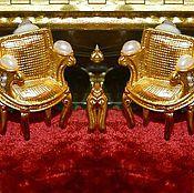 """Серьги винтажные ручной работы. Ярмарка Мастеров - ручная работа Эпатажные Клипсы """"12 стульев"""" Карл Лагерфельд 1980. Handmade."""