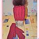 Комплекты аксессуаров ручной работы. Зимний комплект: шапка с помпоном и варежки. Татьяна. Интернет-магазин Ярмарка Мастеров. Однотонный