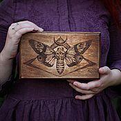 Для дома и интерьера handmade. Livemaster - original item The box with the hawk.. Handmade.