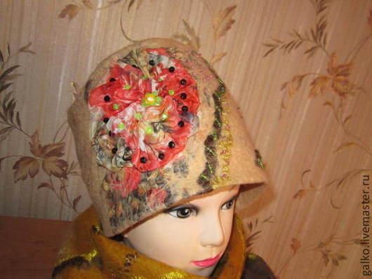 Шарфы и шарфики ручной работы. Ярмарка Мастеров - ручная работа. Купить шапочка. Handmade. Разноцветный, весна, зима, легкая