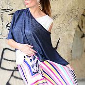 Одежда handmade. Livemaster - original item Linen Tops for Women, Summer Tops, Short Sleeves Blouse. Handmade.