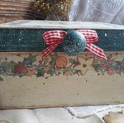 Для дома и интерьера ручной работы. Ярмарка Мастеров - ручная работа Шкатулка Сахарное печенье. Handmade.