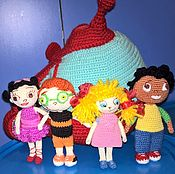 Куклы и игрушки handmade. Livemaster - original item Little Einsteins (4 characters and Rocket purse). Handmade.