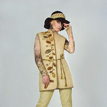 Clothing handmade. Livemaster - original item Vest Alpaca