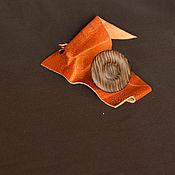 Украшения ручной работы. Ярмарка Мастеров - ручная работа Колечко на металлической основе из венге. Handmade.