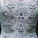 Одежда и аксессуары ручной работы. Ярмарка Мастеров - ручная работа. Купить Платье Anna с полностью расшитым вручную лифом. Handmade.