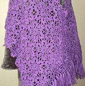 """Палантины ручной работы. Ярмарка Мастеров - ручная работа Палантин """"Виолет""""  Лариса(LXARIT). Handmade."""