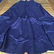 Одежда ручной работы. Ярмарка Мастеров - ручная работа Юбка хлопковая 14ти  клинка на резинке регулируемый размер S-XL. Handmade.