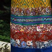 Одежда ручной работы. Ярмарка Мастеров - ручная работа Юбка валяная в бохо-стиле с орнаментом. Handmade.