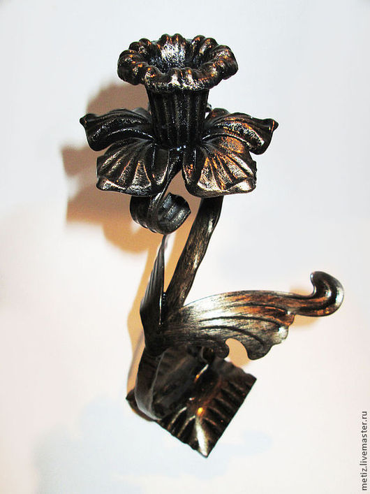 """Подсвечники ручной работы. Ярмарка Мастеров - ручная работа. Купить """"Подсвечник Лебедь"""". Handmade. Изделие из металла, романтический подарок"""