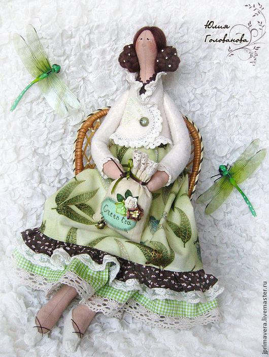 тильда, кукла тильда, тильда в подарок, тильда купить, подарок на день рождения, тильда весенняя, подарок на 8 марта, тильда ангел, тильда интерьерная, Юлия Голованова, Ярмарка мастеров
