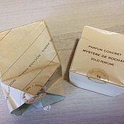 Предметы интерьера винтажные ручной работы. Ярмарка Мастеров - ручная работа Mystere de Rochas Solid Parfum Rochas РАРИТЕТ!. Handmade.