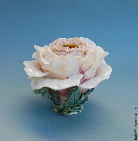"""Вазы ручной работы. Ярмарка Мастеров - ручная работа. Купить """"Пион"""".Ваза в форме цветка.. Handmade. Разноцветный, необычная ваза"""