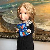 Куклы и пупсы ручной работы. Ярмарка Мастеров - ручная работа Авторская кукла «Сашенька».. Handmade.
