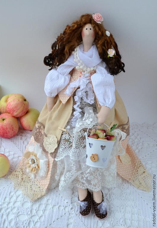 Куклы Тильды ручной работы. Ярмарка Мастеров - ручная работа. Купить Яблочная фея.Тильда хозяюшка.Кукла помощница для кухни. Handmade.