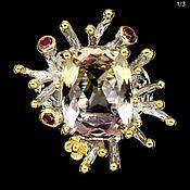 Украшения handmade. Livemaster - original item Ring with two-color Ametrine. Handmade.