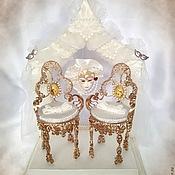 Свадебный салон ручной работы. Ярмарка Мастеров - ручная работа Подушечка для колец Венеция. Handmade.