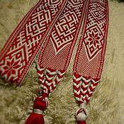 Русский стиль handmade. Livemaster - original item Sash